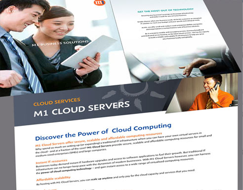 brochure copywriting sample - M1